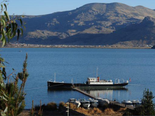 Vista de la embarcación